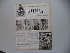 advertising Pubblicità 1965 BICICLETTA GRAZIELLA CARNIELLI