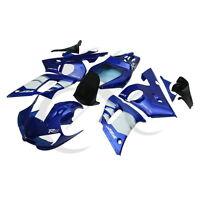 New Blue White ABS Plastic Fairing Bodywork Kit For Yamaha YZF R6 1998-2002 1999