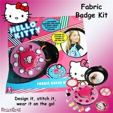 Hello Kitty Fashion ir Tela Badge Maker Kit De Costura
