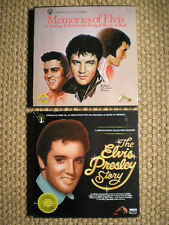 ELVIS PRESLEY (2) SETS The ELVIS Story & Memories of ELVIS NM FREE Shipping