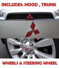 2007 2008 2009 Mitsubishi Lancer Hood Trunk Steering Wheel Overlay Decal Sticker
