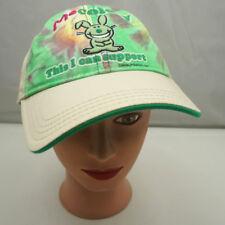 Jim Benton Bunny Hat Beige Stitched Adjustable Baseball Cap Pre-Owned ST212
