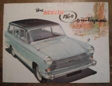 AUSTIN A60 COUNTRYMAN ESTATE orig 1960s UK Mkt Sales Brochure