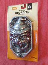 HALLOWEEN Talking DoorBell NOS w Package Works W 3 Message Greetings 2015 Goblin