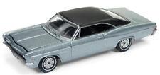 Auto World 1/64 1966 Chevy Impala Chateau Slat Metallic Die-Cast Car AW64162