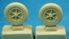 Bf 109 G2-G4 Wheels (second pattern spoked rims), 48163 Ultracast 1/48