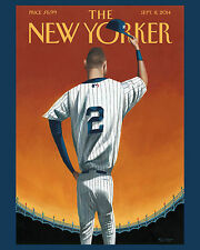 Derek Jeter - 8x10 Color Photo of New Yorker Cover Magazine