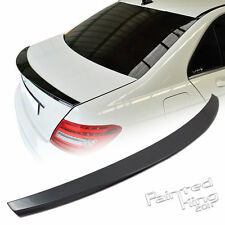 Painted Mercedes Benz W204 C-class 4DR C250 C300 DR-Style Boot Trunk Spoiler ABS