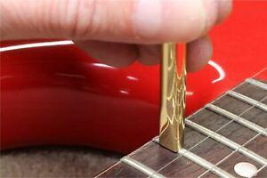 Hosco Brass Fret Setter - for small, medium, and Jumbo frets