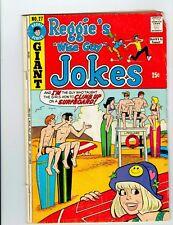 Reggie's Wise Guy Jokes #27 (Oct 1973, Archie)