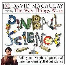 Pinball Science Factory Sealed David Macaulay PC Game Kids DK Learning Family