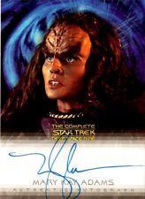 Complete Star Trek Deep Space Nine DS9 Mary Kay Adams / Grilka A6 Auto Card