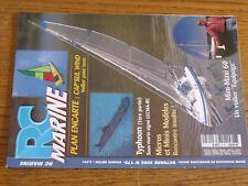 15µ?. Revue RC Marine n°175 Plan encarté Cap'Sul Wind / Typhoon Mini-Maxi 60