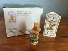 Midwest of Cannon Falls Hinged Box Classic Pooh Best Friends Phb Winnie & Piglet