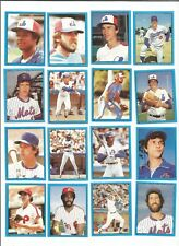 1982 Topps Baseball Sticker Chris Speier #58 Montreal Expos *MINT*