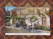 Vintage Postcard Oldest House In The United States, St. Augustine, Florida