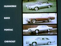 1971 Oldsmobile - Compare - Buick Chevy & Pontiac Dealer - Film MP4 CD