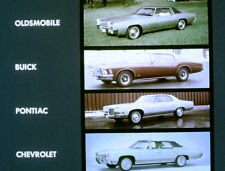 1971 Oldsmobile - Compare - Buick Chevy & Pontiac Dealer - Film MP4 CD
