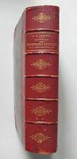 HISTOIRE DES PELERINAGES FRANCAIS DE LA TRES SAINTE VIERGE -R P DROCHON - 1890 *