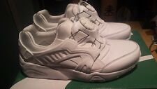 Puma Trinomic Disc Blaze Leather White Shoes Sneakers UK 8 US 9 361979 02