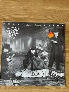 Maxi Single von Public Passion: Flash in the Night! Italo Disco Rarität 1986