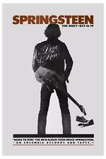 The BOSS: Bruce Springsteen at the  Roxy Theatre in L.A. Concert Poster 1975