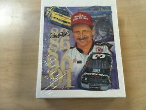 """DALE EARNHARDT JIGSAW PUZZLE-SPORTS IMAGE INC-LIMITED EDITION 48 PIECES 8""""x10"""""""