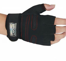 New Sports Exercise Training Fitness Weight Lifting Gym Gloves Long Wrist Wrap
