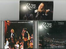 COFFRET 2CD 20T  ANDRE  RIEU  NEW  YORK  MEMORIES  DE 2006 TRES BON ETAT