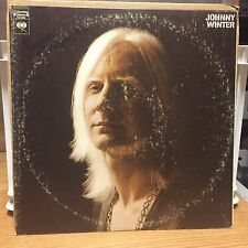 Johnny Winter Self Titled LP Columbia 2 Eyes VG+ Hit Be Careful With A Fool