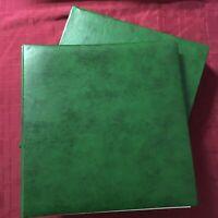 ALB34) Australia 1994 – 2005 Seven Seas Green Hingeless padded album & slipcase