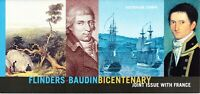 Australia Post - Design Set - MNH - 2002 - Flinders-Baudin Bicentenary