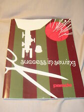 Parade Success in Sewing 1971 -62 Pages of Sewing Guide