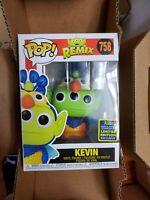 Funko Pop Disney Remix Alien as Kevin SDCC 2020 Shared Sticker In Hand #758