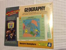 Geo Safari Theater Geography Western Hemisphere 1995 Transparency Lessons