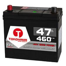 TOKOHAMA Asia Autobatterie 12V 47Ah 460A/EN hohe STARTKRAFT + Pluspol links 45Ah