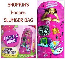 SHOPKINS Hooded SLUMBER BAG NAP MAT Toddler Daycare Preschool Toy Bedding Decor