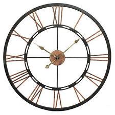Orologio da parete in metallo scheletrico-Grande, 70cm