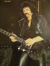 Tony Iommi, Black Sabbath, Yngwie Malmsteen, Double Full Page Pinup