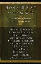 How Great Is Our God: Timeless Daily Readings On The Nature Of God (navpress ...