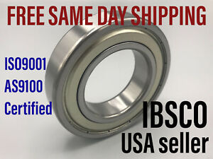 6203ZZ (lot of 5) Shielded Single Row Ball Bearing 17mm x 40mm x 12mm NEW