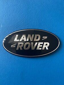 LAND ROVER EMBLEM REAR LIFTGATE BLACK/CHROME BADGE back sign symbol logo land