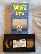 The Truth About UFO's and ET's (1982) - VHS Video Tape - Documentary
