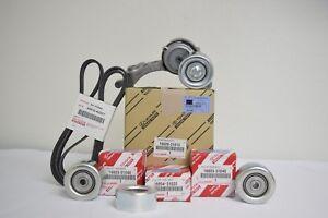 Toyota Tacoma V6 4.0L 05-14 Drive Belt Tensioner & Idler Pulley Kit