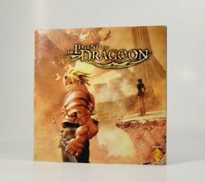 The Legend Of Dragoon (PlayStation 1, 2000) Manual Only! - NO GAME - Great Cond
