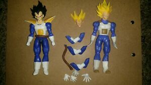 Sh Figuarts Vegeta Lot Namek Cell Saga Dragon Ball Z Super Authentic INCOMPLETE