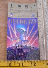 Superbowl XXVII ORIGINAL ticket Dallas Cowboys v Buffalo Bills 1993