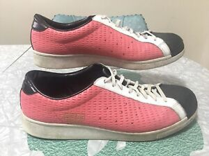 Rare 2007 Men's Adidas Stan Smith Pink Tennis Shoes Sneakers Size 12
