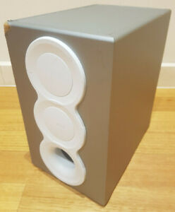 Creative I-Trigue 3400 Subwoofer Speaker Only - White - Untested