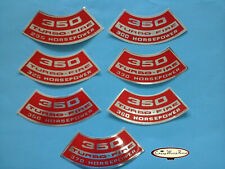 CHEVROLET CHEVY 350 TURBO- FIRE AIR CLEANER DECAL HORSEPOWER CHOICE